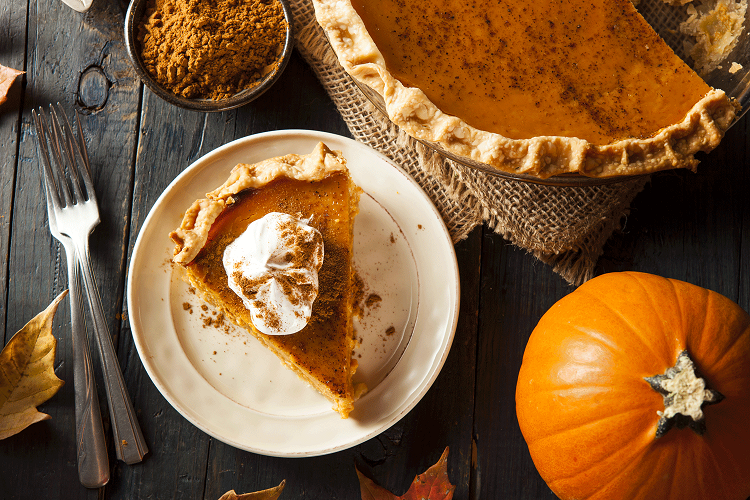 Amerikansk pumpapaj pumpkin pie