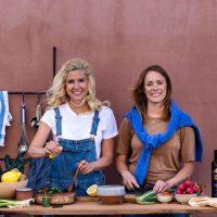Matkreatörer och dietister Caroline Wilbois och Johanna Andersson