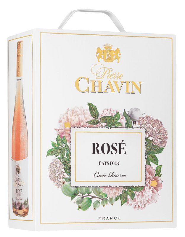 Pierre Chavin Rosé Pays d'Oc Cuvée Réserve