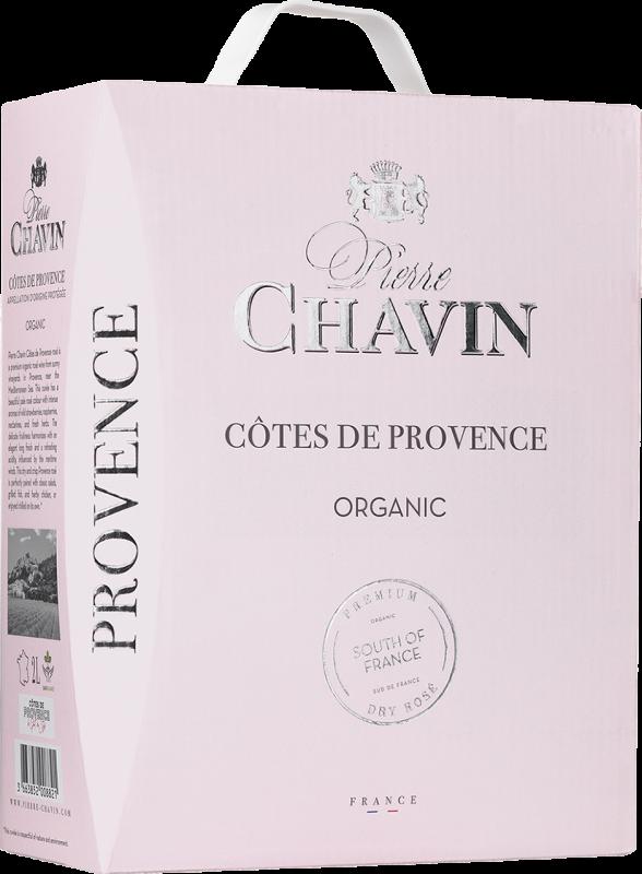 Pierre Chavin Organic Côtes de Provence Rosé