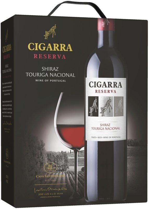 Cigarra Reserva Shiraz Touriga Nacional box