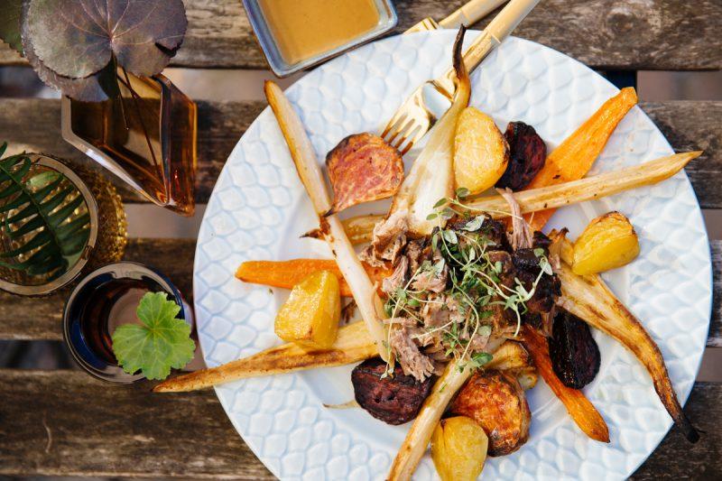 recept långbakad fläskkarré pulled pork