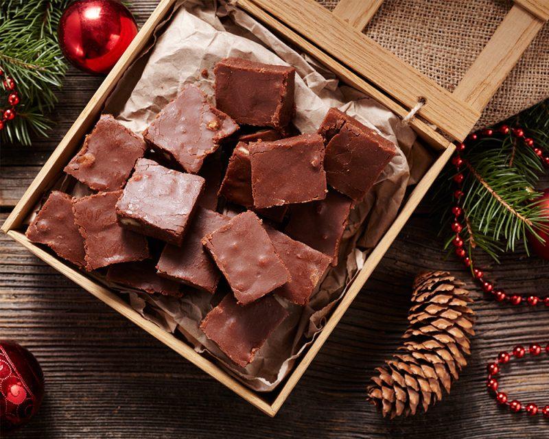recept chokladfudge