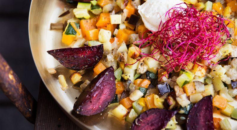 Grönsakspytt med fetaost