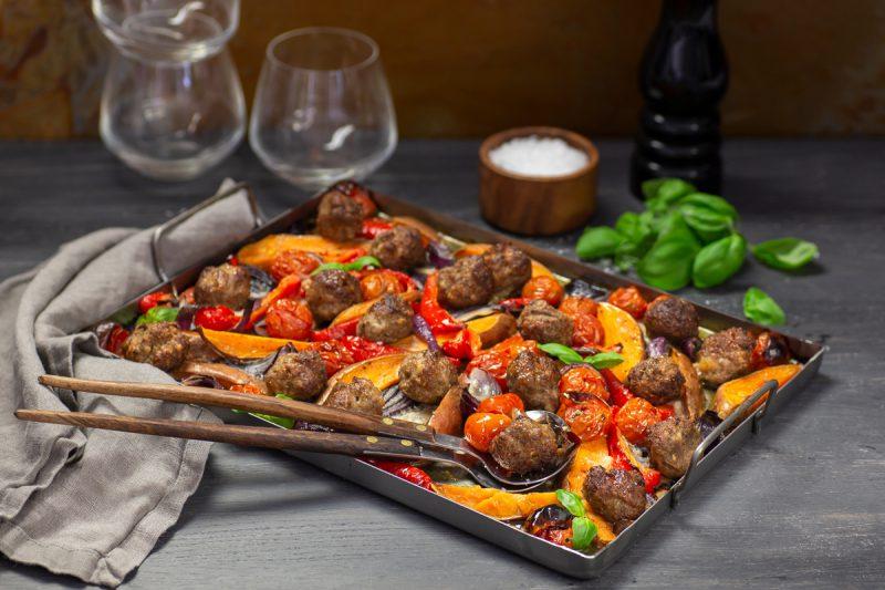 recept parmesankryddade köttbullar