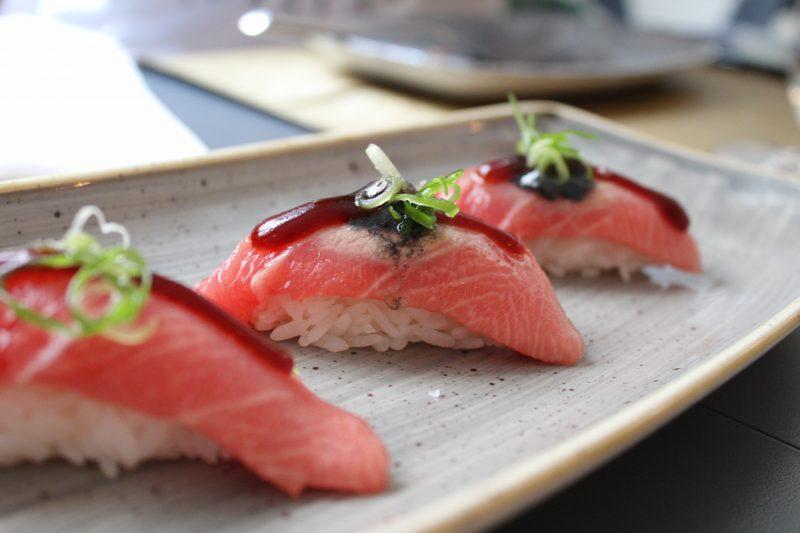 vin till sushi